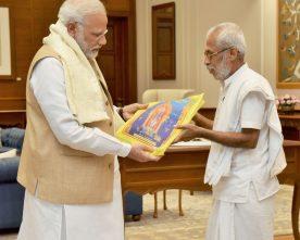Sitaram Kedilaya calls on the Prime Minister