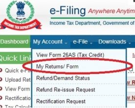 24.5% increase in the number of Income tax returns filed this year