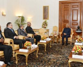 Parliamentary Delegation from Seychelles calls on the President