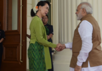 Prime Minister meets the State Councillor of Myanmar Ms. Aung San Suu Kyi