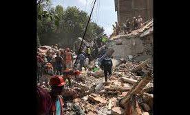7.1 MAGNITUDE EARTHQUAKE HITS MEXICO ,MORE THAN 200 KILLED