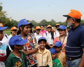 'SWACHHTAVA HI SEVA' CAMPAIGN ORGANISED AT INDIA GATE BY TOURISM MINISTRY