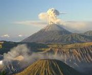 VOLCANO ALERT LEVEL RAISED BY AUTHORITIES AT BALI ,INDONESIA