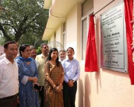 NBCC IMPLEMENTED CGHS FIRST AID POST INAUGURATED AT GPRA COMPLEX, NEW DELHI