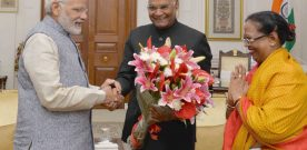 PRIME MINISTER GREETS PRESIDENT OF INDIA ON HIS BIRTHDAY