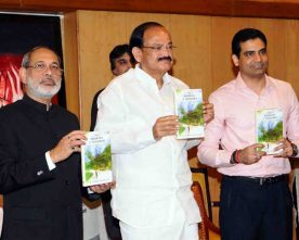 The Mavericks of Mussoorie book authored by M. Ramachandran released by Vice President