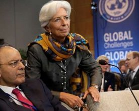 IMF CHIEF CHRISTINE LAGARDE STATES INDIAN ECONOMY IS ON A VERY 'SOLID TRACK'