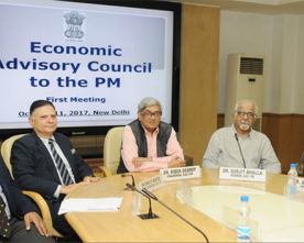 1st Meeting of Economic Advisory Council to the PM begins at NITI Aayog in New Delhi
