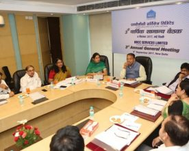 3RD ANNUAL AGM OF NBCC SERVICES LTD. HELD