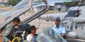 Defence Minister Visits Air Force Station Jamnagar