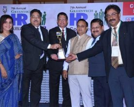 Oil India Limited has been awarded with 7th Annual Greentech HR Platinum Award 2017