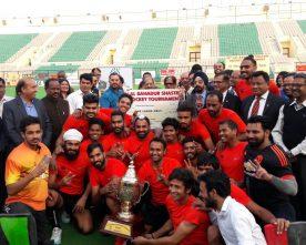 PNB wins 28th Lal Bahadur Shastri Hockey Tournament from Indian Railways