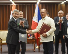 Exchange of MoUs between India and Philippines