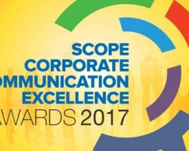 SCOPE INSTITUTES THE SCOPE CORPORATE COMMUNICATION EXCELLENCE AWARDS 2017