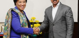 Ms. Patricia Scotland ,Commonwealth Secretary General meet Col. Rajyavardhan Singh Rathore