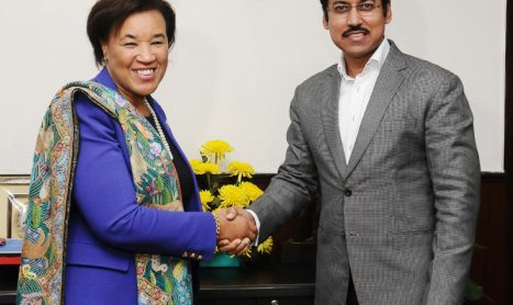 Ms. Patricia Scotland ,Commonwealth Secretary General meet Col. Rajyavardhan Singh Rathore