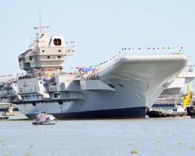INS VIKRANT TO JOIN INDIAN NAVY BY 2020
