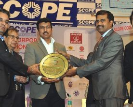 POWER FINANCE CORPORATION BAGS FIRST PRIZE IN ANNUAL REPORT AT SCOPE CORPORATE COMMUNICATION EXCELLENCE AWARDS 2017