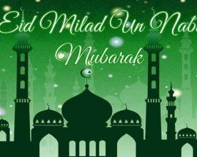 President's Milad-un-Nabi greetings