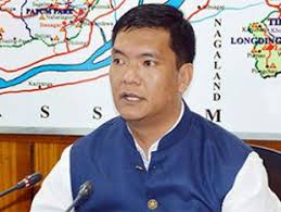 Pema Khandu,CM,Arunachal Pradesh  takes stock of water condition in Siang River