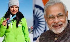 PM congratulates Aanchal Thakur on winning India's first international medal in skiing