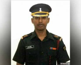 Army Major dies in a fire incident in Tawang