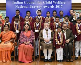 PM presents National Bravery Awards