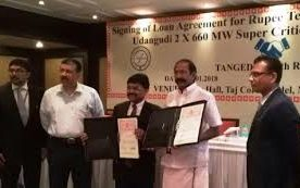 REC signs loan agreement of Rs. 10,453 crore with Tangedco