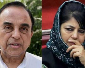 Withdraw FIR against Army or your govt will be toppled, Swamy tells Mehbooba