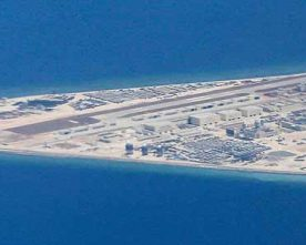 New photos show China is nearly done with its militarization of South China Sea