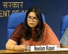 IIS officer Neelam Kapur appointed Director General,Sports Authority of India Ltd.