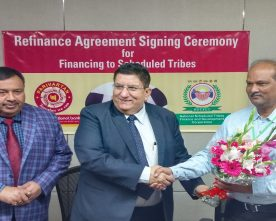 PNB signed Refinance Agreement with NSTFDC