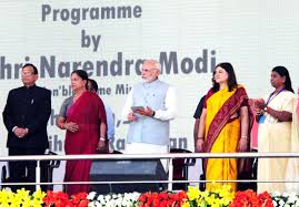 PM launches National Nutrition Mission & expansion of Beti Bachao Beti Padhao