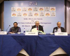 NTPC IIMA Join Hands for World Class Institute in Energy Management