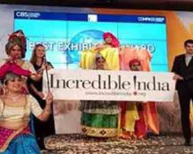 INDIA GRABS BEST EXHIBITOR AWARD AT ITB BERLIN