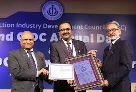 Balraj Joshi ,CMD, NHPC conferred 'Industry Doyen' award