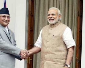 CENTRE DECIDE TO HIKE FINANCIAL AID TO NEPAL TO RS.650 CRORE